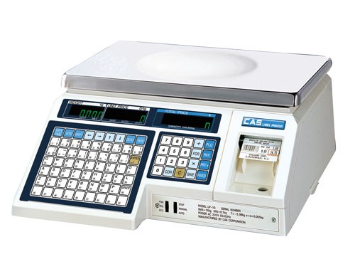 Working with CAS Label Printing Scales in M&M POS